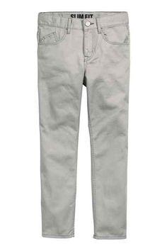 Twill trousers Slim Fit