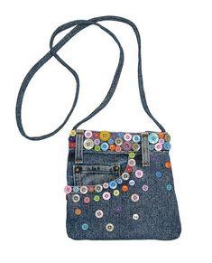 Blue Denim Small Shoulder Mini Pouch Crossbody Handbag with Colorful Buttons Denim Tote Bags, Denim Handbags, Denim Purse, Denim Jeans, Jean Pocket Purse, Denim Bag Patterns, Blue Jean Purses, Best Purses, Denim Crafts