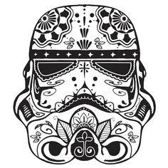 stormtrooper caveira mexicana - Pesquisa Google