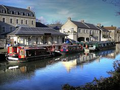 Sydney Wharf Kennet And Avon Canal, Bath