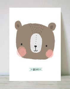 Lámina bear by Aless Baylis of This is Gold So cute!