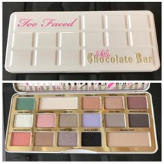 Too Faced White Chocolate Bar #toofaced #whitechocolatebar #whitechocolate #eye