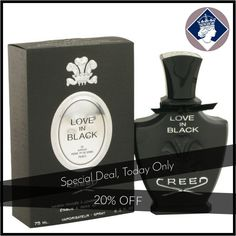 Today Only! 20% OFF this item.  Follow us on Pinterest to be the first to see our exciting Daily Deals. Today's Product: Creed Love In Black for Her 75ml/2.5oz Millesime Eau De Parfum Spray Fragrance Buy now: https://small.bz/AAaZhwk #fashion #perfume #smellgood #picoftheday #instacool #onlineshopping #instashop #loveit #instafollow #shop #shopping #love #OTstores #smallbiz #instagood #musthave #photooftheday #sale #dailydeal #dealoftheday #todayonly #instadaily