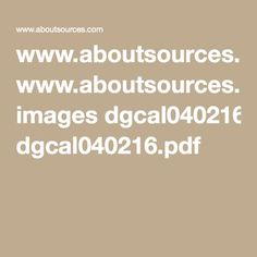 www.aboutsources.com images dgcal040216.pdf