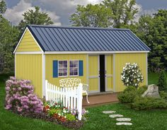 Brookhaven 10x20 Wood Shed Kit
