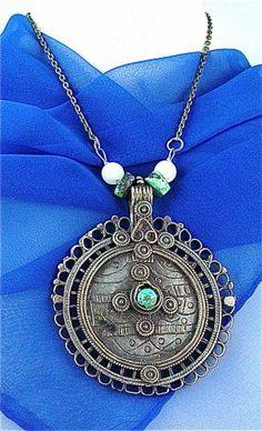 Antique Silver, Bronze & Gemstone Jewelry Styles in Yemen, Turkmenia & Ancient Mongolia: November 2011