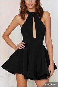 Halter Neck Open Front & Back Summer Dress