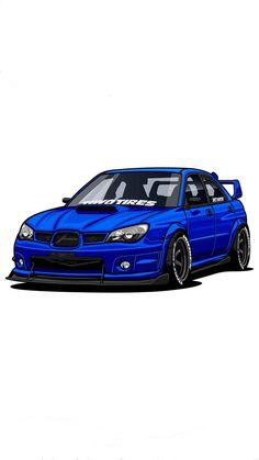 10 Basic Things Every Car Owner Should Know It's so easy to get a car these days. And it's rather easy to learn how to drive. Tuner Cars, Jdm Cars, Subaru Impreza Sti, Wrx Sti, Jdm Wallpaper, Automobile, Car Illustration, Car Drawings, Japanese Cars