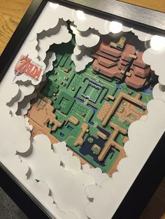 (*** http://BubbleCraze.org - Like Android/iPhone games? You'll LOVE Bubble Craze! ***) Zelda | 3D Paper Dioramas by Daniel Kayser