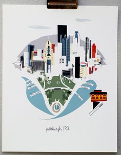 Pittsburgh by Albie Designs