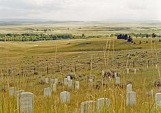 Little Bighorn Battlefield ~ beautiful, lonely country.  The silence is unbelievable here.
