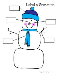 What happened to my snowman? Melted Snowman Writing Activity