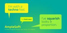 AmpleSoft - Webfont & Desktop font « MyFonts