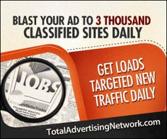 Total Advertising Network Blast your ad to over 5 thousand websites daily. Thats over submissions montly. Blast for all your products and services! Advertising Networks, Advertising And Promotion, Online Advertising, Business Help, Online Business, Business Ideas, Website Creator, Blog Websites, Post Free Ads
