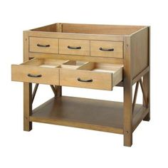 Foremost Avondale 36 in. Vanity Cabinet Only in Weathered Pine-AVHOS3622 at The Home Depot
