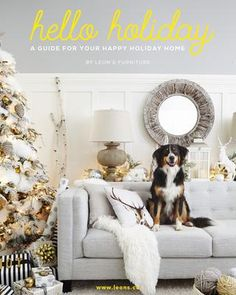 HELLO HOLIDAY GUIDE 2015 A guide for your happy holiday home. Includes home decor, DIY, and recipe inspiration to make your home and holiday a happy one.
