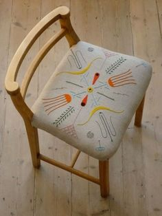 uk embroidery artist sally nencini. Tyrella Stool - Sally Nencini - Bespoke upholstery and knits for the home