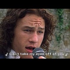 10 things I hate about you- oh this movie makes my heart melt every time:)