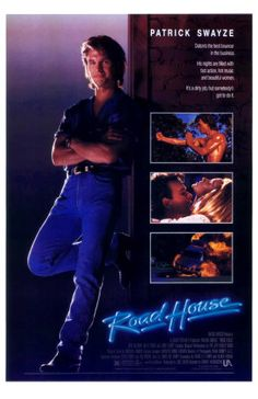 Cooler James Dalton (Patrick Swayze), is been hired to clean up The Double Deuce, a rowdy road house bar. Teaming up with Wade Garrett (Sam Elliott), Elizabeth Clay (Kelly Lynch) the Ph.D turned bouncer is tasked to take on nefarious, crime boss Brad Wesley (Ben Gazzara) and his goons to save a small town.