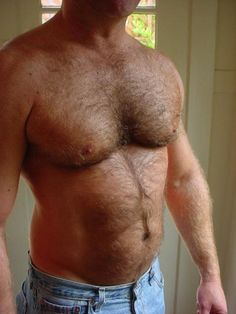 """yeyoso: """" guysthatgetmehard: """" that fur is just begging to be touched… """" Best Pecs - cum on over ;) __ Click here to follow! __ More: bestpecs.tumblr.com"""