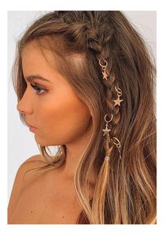 Box Braids Hairstyles, Pretty Hairstyles, Festival Hairstyles, Boho Hairstyles, Hairstyles With Ribbon, Pirate Hairstyles, Concert Hairstyles, Easy Hairstyle, Homecoming Hairstyles