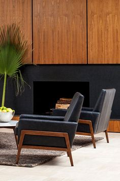 This comfortable and classic chair combines the best of Danish and mid-century design.