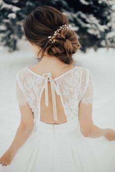 bride bun