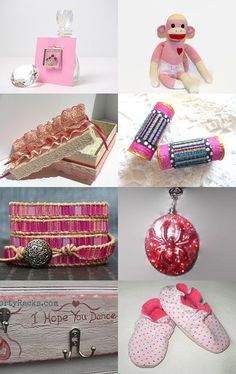 2208 - Girly Pink by Shelley on Etsy--Pinned with TreasuryPin.com