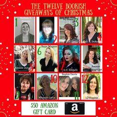 The Twelve Bookish Giveaways of Christmas