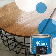 This coffee table by WJ Woodworx & Design was sealed with Woodoc 30