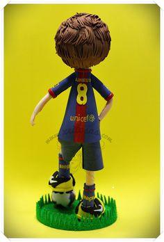 Fofucha Iniesta FC Barcelona | Flickr - Photo Sharing!