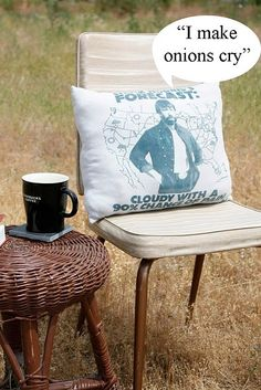 Turning a t-shirt into a pillow. This makes the Chuck Norris joke lover in me happy. #DIY #recycle
