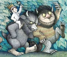 Donde viven los monstruos (Where the wild things are).  Maurice Sendak (1963).