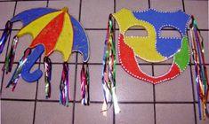 Decoração para Carnaval na Escola - Dicas | Toda Atual Carnival Crafts, Carnival Decorations, Summer Camp Activities, Ideas Para Fiestas, Pre School, Mardi Gras, Book Design, Diy And Crafts, Safari