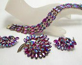 RHineSToneS ~ The GLiTTeR The GLaMoUR ~ VJSE #vjse2 #vintage #jewelry