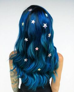 2019 Optimal Power Flow Exotic Hair Color Ideas for Hot and Chic Celebrity Hairstyles - Neue Frisuren 💇 Exotic Hair Color, Hair Color Blue, Cool Hair Color, Hair Colors, Galaxy Hair Color, Pulp Riot Hair Color, Edgy Hair, Mermaid Hair, Rainbow Hair