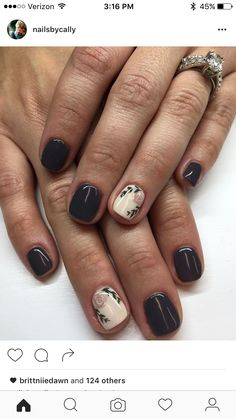 Very nice art work and looks fabulous on a shorter  manicure