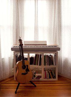 need this in my studio... featured on design sponge http://www.designsponge.com/2012/03/sneak-peek-best-of-guitars.html