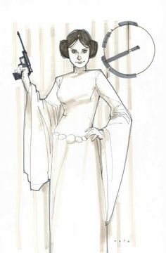 Princess Leia ORGANA | Episode IV : A New Hope (1977) | By Phil NOTO (MARVEL Comics) | STAR WARS : Characters