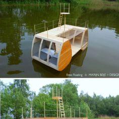 Hoteles que dan envidia  http://monkeyzen.com/2012/01/un-nuevo-concepto-de-disfrute-un-hotel-flotante-de-ensueno