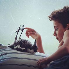 Eine Freundschaft Zwischen Einem Vogel und Einem Jungen | iGNANT.de