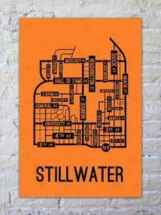 Stillwater, Oklahoma Street Map
