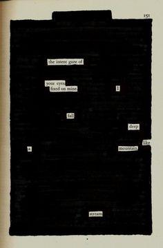 I Fall Deep | Blackout Poetry