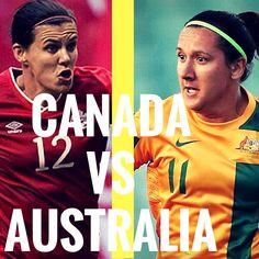 August 3rd 2016  Canada vs Australia (Women's soccer)  #canada #WestfieldMatildas #olympics #rio #olympics2016 #soccer #football #womenssoccer #womensfootball