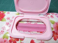 funny Rabbit: Baby wipe case tutorial