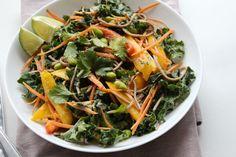 Thai Kale and Soba Noodle Salad (gluten free)