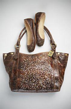 Frye 'Deborah' tote + shoes