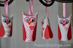 Valentine's Day 2014 - we heart DIY! Green Crafts For Kids, Valentine's Day Crafts For Kids, Animal Crafts For Kids, Valentines For Mom, Valentine Crafts For Kids, Holiday Crafts, Diy Valentine, Owl Crafts, Preschool Crafts