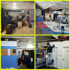 Still loads to do but feel like we might be starting to get things done now. Been a really busy week at 5 Elements  on our yearly refresh of Basildons Martial Arts Academy  Thanks to everyone who has helped out.