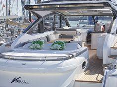 Princess V58 Open debuting at the Southampton Boat Show 2015 #sportsyacht #yacht #loveboatshows #sbs15